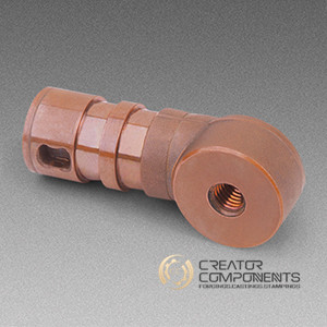 ISO Bronze Machined Forging Part